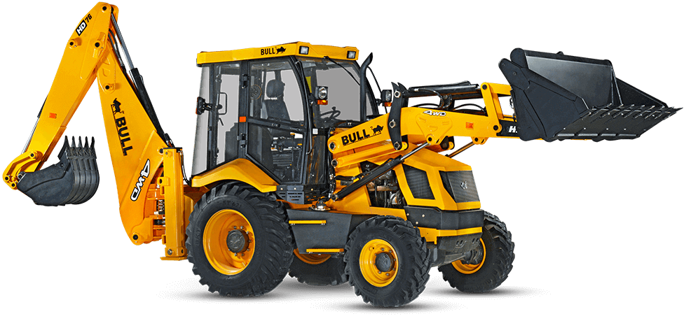 Engine And Transmission World >> BULL Construction Equipment - Backhoe Loader Manufacturers India